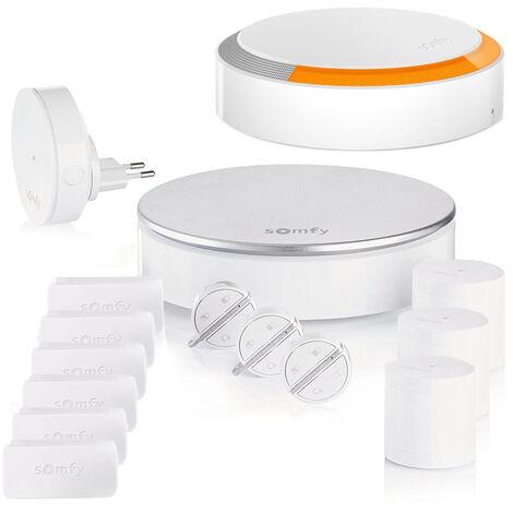 Pack Somfy Protect Home Alarm Starter - Kit 3 - Blanc