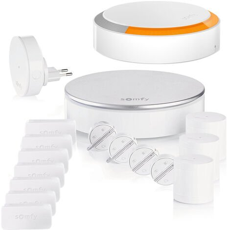 Pack Somfy Protect Home Alarm Starter - Kit 4 - Blanc