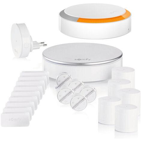 Pack Somfy Protect Home Alarm Starter - Kit 5 - Blanc