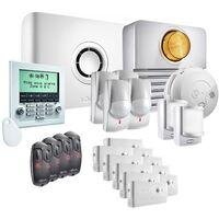 Somfy - Pack alarme Protexiom Ultimate GSM Kit 5 - Blanc