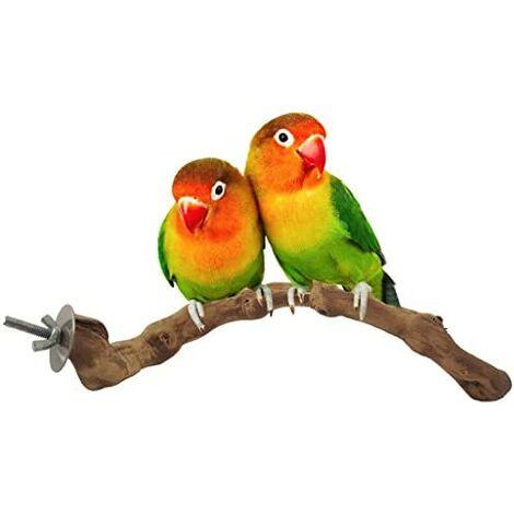 Bird perch, natural vine bird cage perch for parrot cage toys