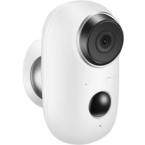 Wireless Battery Surveillance Camera, Outdoor 1080P WiFi IP Camera with PIR Detection, Night Vision, PIR Motion Detection, Two Way Audio