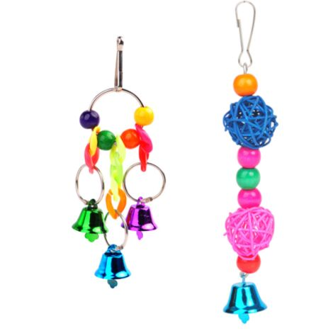 Bird toys, wooden perches, swings, ladders, small and medium sized bird cages, parrot perches