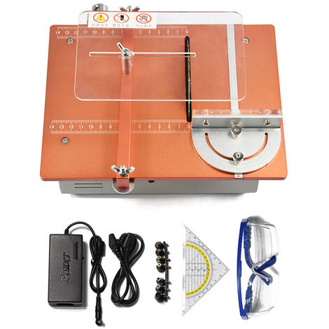 Mini Saw Table, Lift Table Saw, Portable Sliding Table Saw For Woodworking, Cutting Depth For Handmade Wood Crafts