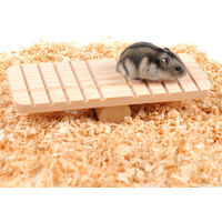 Hamster wooden swing swing set small animal toy mouse gerbil swing