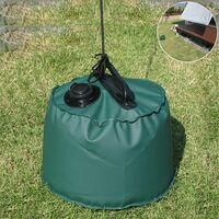 10L Tent Weight Bag Weight Bag Umbrella Stand Heavy Weight Sand Gazebo Water Injection Type Outdoor Gazebo Weight Weight Bag For Any Pop-up Gazebo, Tent Awning Parasol
