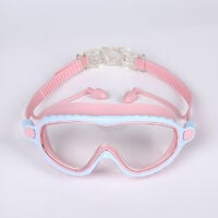 Swimming goggles for, large frame, anti-fog, swimming goggles for children, professional HD waterproof, diving goggles for for swimming pool pink