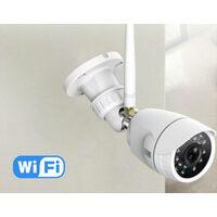 Wireless wifi outdoor camera surveillance, wifi ip camera, bidirectional audio, motion detector, night vision, push message, IP66, a