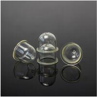 10Pcs Primer Pump Primer Pear Diesel Fuel Primer Bulb Transparent Carburetor Oil Cup Primer Bulb Brushcutter for Gasoline Blowing Mowers 18.5 / 22mm