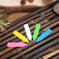 Plastic Plant name tag Flower tag marker Seed name Stake tags nursery seedlings tags for Potted Garden Herbs Flowers vegetables