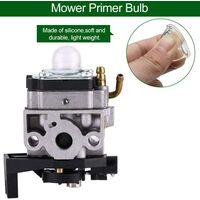 100Pcs Primer Pump Primer Pear Diesel Fuel Primer Bulb Transparent Carburetor Oil Cup Primer Bulb Brushcutter for Gasoline Blowing Mowers 18.5 / 22mm