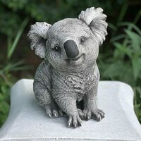 Resin Animal Garden Statue Koala Bear Outdoor Sculpture Ornaments Décor Funny Outdoor Sculpture Indoor Outdoor Figurines Figurines