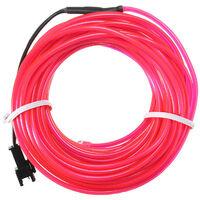 10M El Flexible LED Soft Tube Wire Neon Glow Car Rope Strip Light Christmas Decor DC 12V-Fluorescence Green