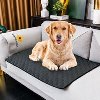 Washable Pee Pad for Dogs,1 Pack Extra Large Reusable Puppy Training Pads Super Absorbent Puppy Pet Potty Incontinence Pads for Playpen Mat & Whelping Mat 60*45, for Dogs, Cats and Rabbit