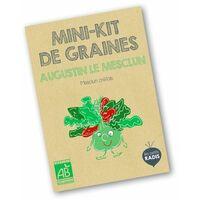 Mini kit de graines BIO d'Augustun le mesclun