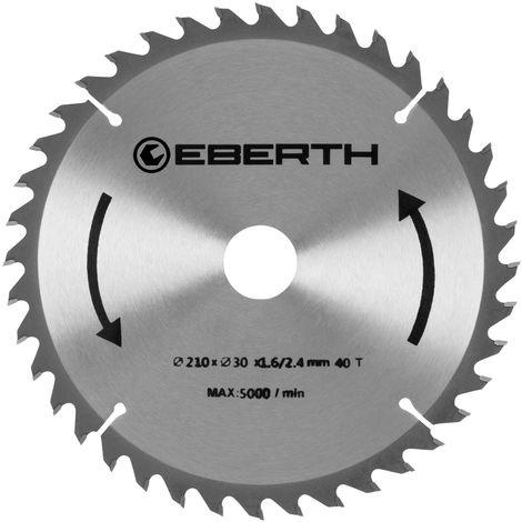 Hoja de sierra con un diámetro de 210mm
