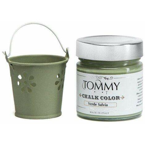 Vernice shabby chic chalk verde salvia ml.200 - Verde