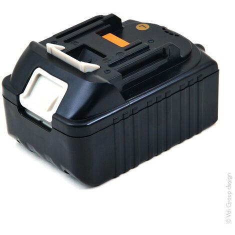 NX - Batterie visseuse, perceuse, perforateur, ... compatible Makita 18V 3Ah - 194204-5 ; 1