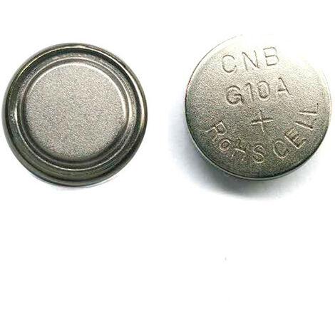 NX - Pile bouton alcaline blister LR1130/LR54 NX - 0% Hg 1.5V 75mAh