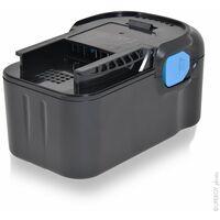 NX - Batterie visseuse, perceuse, perforateur, ... grande autonomie compatible AEG 18V 4Ah