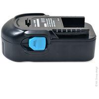 NX - Batterie visseuse, perceuse, perforateur, ... compatible AEG 18V 2Ah - 1815 ; 1830 ; A