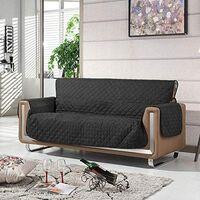Black 3 Seat Sofa Cover