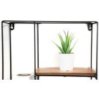 5 Section Rectangular Wall Hanger