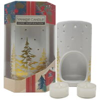 Yankee Candle Christmas Wax Burner With Tealights
