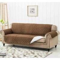 Sofa Protector Covers 3 Seat Sofa Cover – Brown