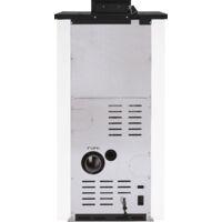 Pack Poêle à granules SUNNY 17 Etanche + Kit Conduit Vertical 100/150 - Bordeaux