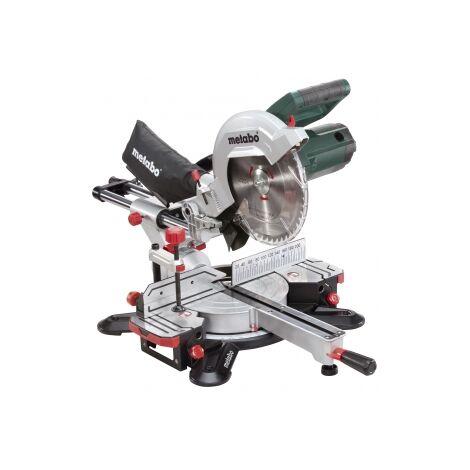 """Metabo 602540380 KGS 254 M 240V 10"""" single bevel sliding mitre saw"""