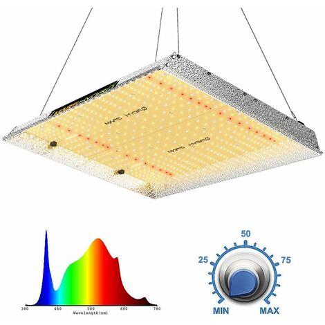 Mars Hydro TSW 2000W LED Grow Light Full Spectrum Hydroponics for Indoor Plants - Silver