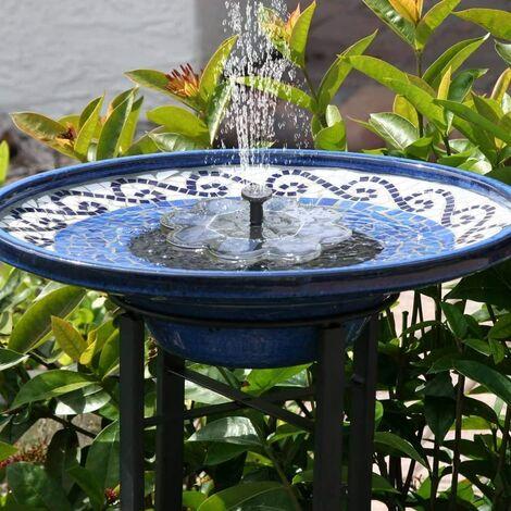 [New] Solar Fountain, 1.6W Outdoor Garden Fountain, Water Fountain, Garden Decor, Mini Water Pump, Pond Pump / Pool Fountain, Outdoor Pond Pump, Modern Fountain Kit