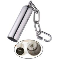 Parrot Bell Toys 2 Pieces Stainless Steel Parrot Bell Toys Bird Cage Toy Bird Bell Toys Parrot Cage Toys