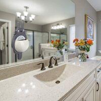 Cartoon Toothbrush Toothpaste Holder with Suction Cup Wall Mount for Bathroom Shower Storage Sucker Kitchen Fridge Organizer Accessories