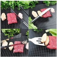 BBQ Grill Tool Set, Stainless Steel BBQ Accessories in Case, Full Set of Top Quality Outdoor BBQ Utensils Gifts for Men Women
