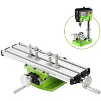 310x90mm Mini Multifunction Milling Worktable Composite Milling Machine Drilling Coordinate Table (Type 1)