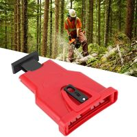 High Quality Electric Chainsaw Sharpener, Portable Chain Saw Blade Sharpener Chainsaw Teeth Sharpener Kit Universal Whetstone Grinder Tools (Red)