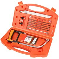 12 pieces of hacksaw, hand saws for multi-function wood cutting Scroll saw with storage case Arc saw for plastic, glass, tile, metal, ceramic