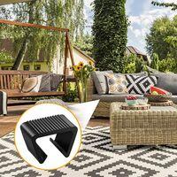 10 Pieces Outdoor Patio Wicker Furniture Clips