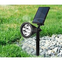 Solar LED Grow Light 7 Colored Lights for Outdoor Plants Veg and Ground Garden Spotlight No Need Charge Battery Grow Light