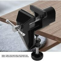 Bench Vice Mini Aluminium Alloy Table Vice 360 Degree Rotation Household Clamp Umge Machine Tool Universal Work