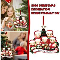 Christmas Decorations 2020 Family Christmas Ornaments Creative Gift for Family