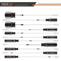 TACKLIFE Juego de destornilladores , 18 piezas -HSS7B