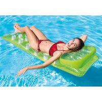 Oreiller à la mode rangée flottante adulte lit flottant gonflable eau enfants monter planche de surf inclinable-188 x 71 cm