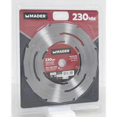 Disco Tungsteno para Amoladora - MPT - Corte Madera - 230MM