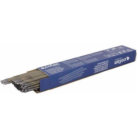 Electrodos Rutilo 2,5mm Medida mm:2,5 x 350mm Envase:1 caja x 145 uds