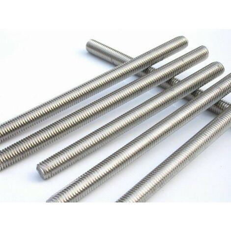 Varilla roscada acero inoxidablee A2 DIN 975 1000 mm