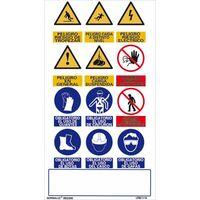 Se/ñal Luminiscente No Utilizar los Ascensores en Caso de Incendio Clase B PVC 0,7mm 21x15cm con CTE Normaluz RD01129 RIPCI y Apto para la Nueva Legislaci/ón