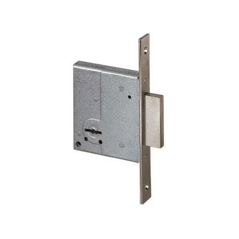 Cerradura de seguridad Cisa laton llave sola 50 mm.